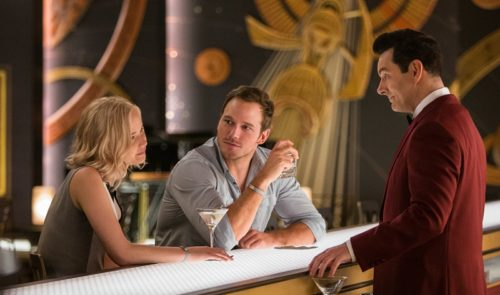 Jennifer Lawrence und Chris Pratt in Passengers