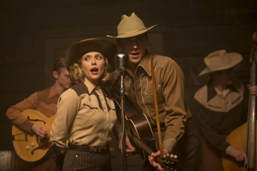 Tom Hiddleston als Hank Williams und Elozabeth Olsen als Audreyin I Saw the Light