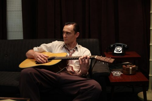 Tom Hiddleston als Hank Williams in I Saw the Light